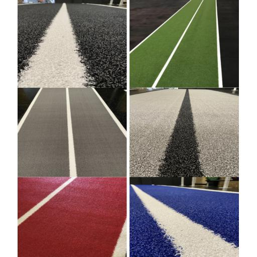 Gym Grass With Lanes