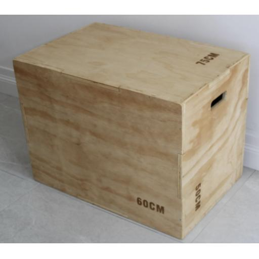 3-1 Wooden Plyo Box