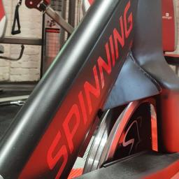 There is a used Star Trac NXT spin bike in Flair Fitness' showroom in Bridgend, Co Donegal, Ireland