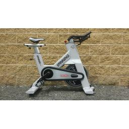 Star Trac NXT 7090 spin bike outside Flair Fitness' Derry Location